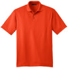 port-authority-orange-jacquard-polo