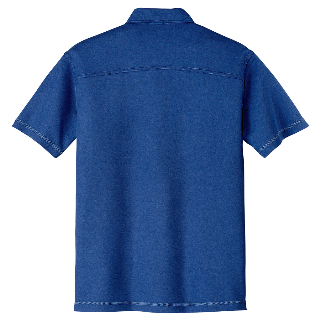 Port Authority Men's Royal Modern Stain Resistant Pocket Polo