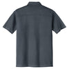 Port Authority Men's Steel Grey Modern Stain Resistant Pocket Polo