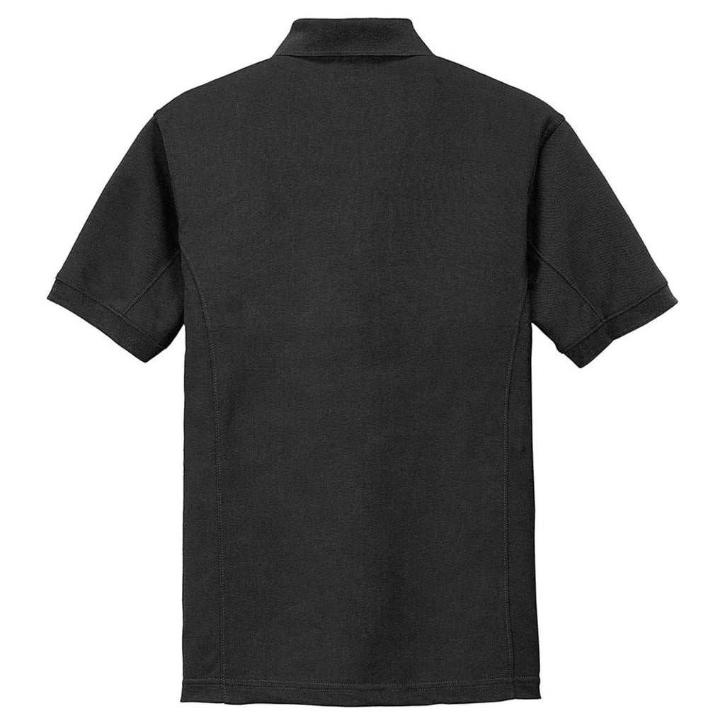 Port Authority Men's Black 5-in-1 Performance Pique Polo