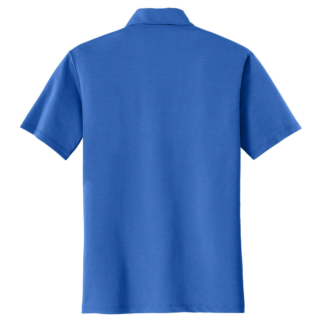 Port Authority Men's Strong Blue Cotton Touch Performance Polo