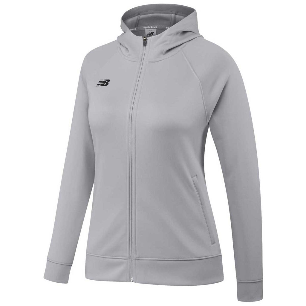 New Balance Women's Light Grey Travel Hoodie