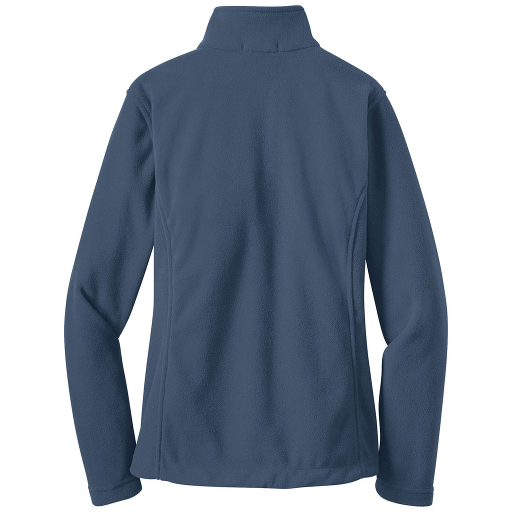 Port Authority Women's Insignia Blue Value Fleece Jacket
