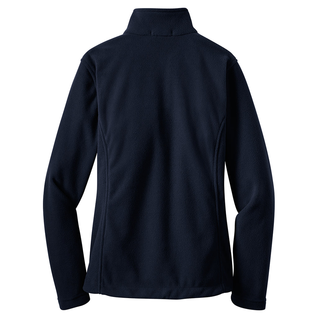 Port Authority Women's True Navy Value Fleece Jacket