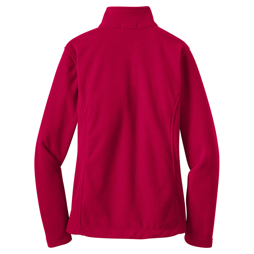 Port Authority Women's True Red Value Fleece Jacket