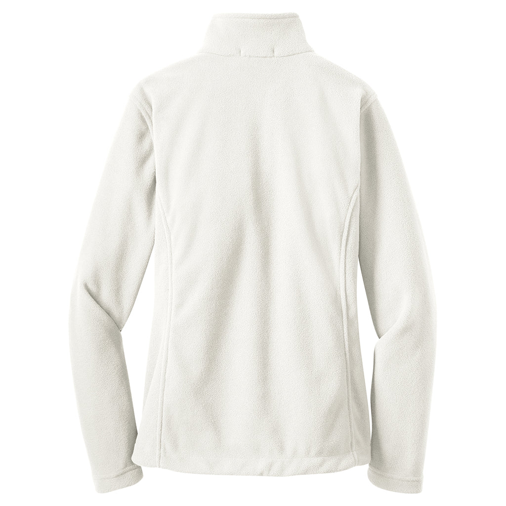Port Authority Women's Winter White Value Fleece Jacket
