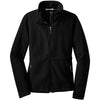 port-authority-women-black-value-fleece