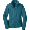 port-authority-women-turquoise-value-fleece