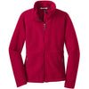 port-authority-women-red-value-fleece