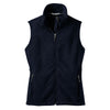 port-authority-women-navy-fleece-vest