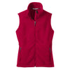 port-authority-women-red-fleece-vest