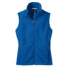 port-authority-women-blue-fleece-vest