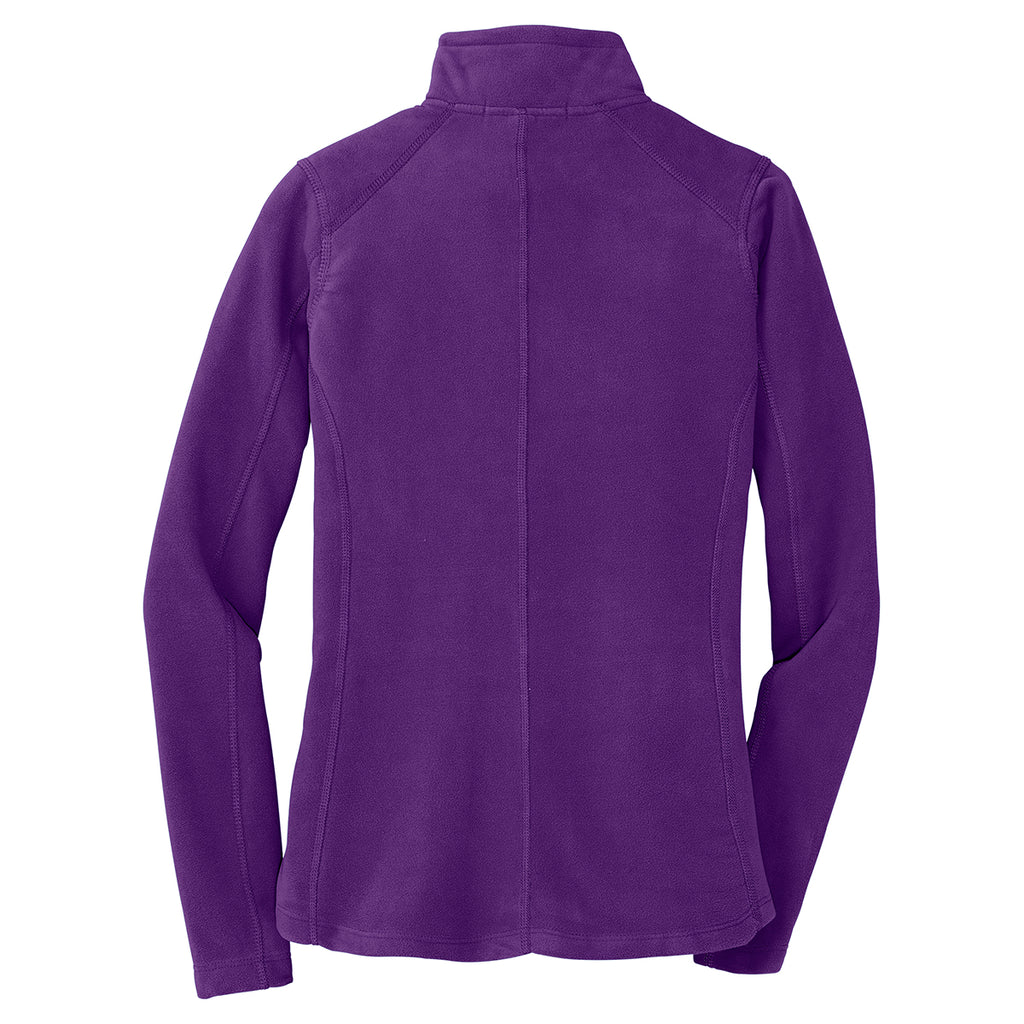 Port Authority Women's Amethyst Purple Microfleece Jacket
