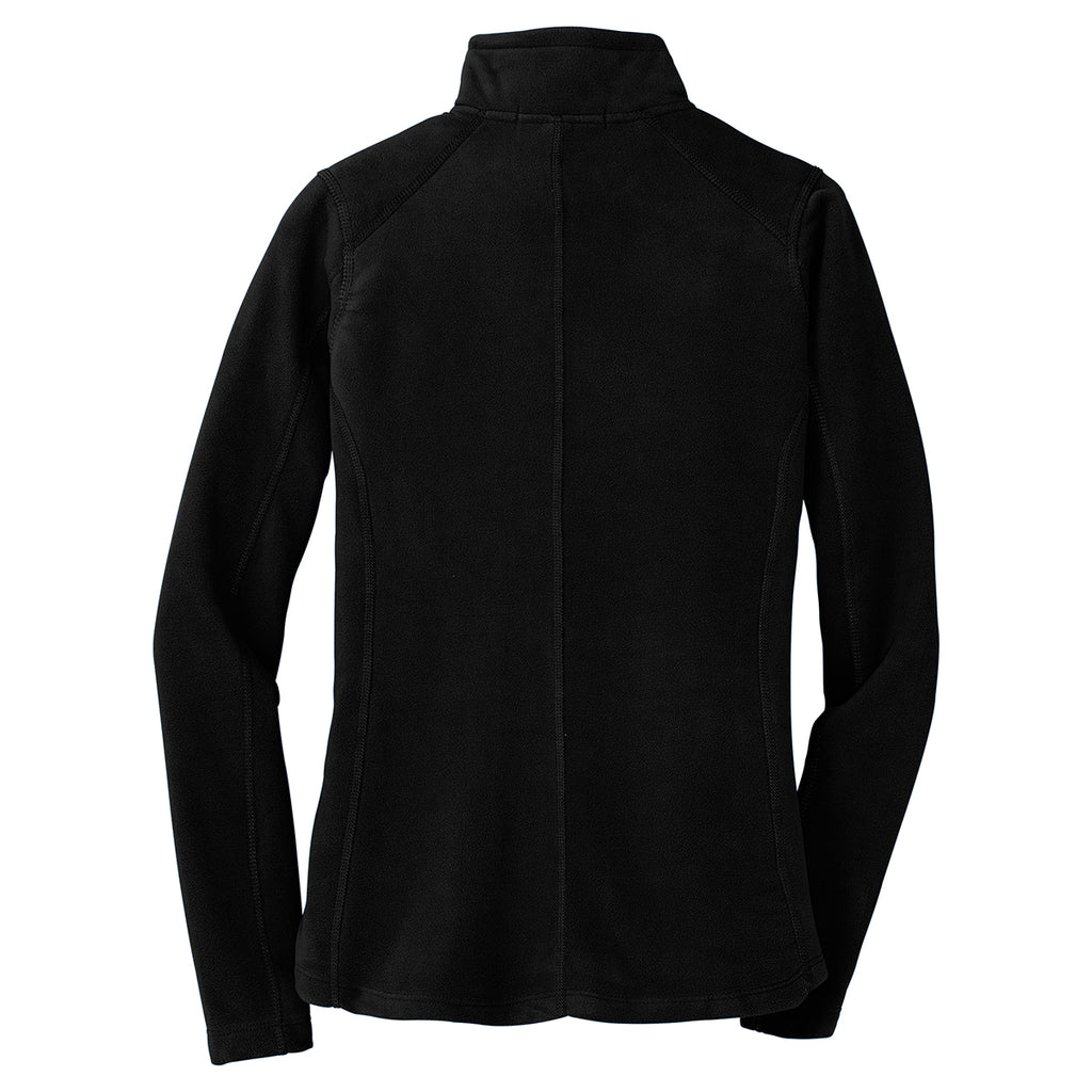 Port Authority Women's Black Microfleece Jacket
