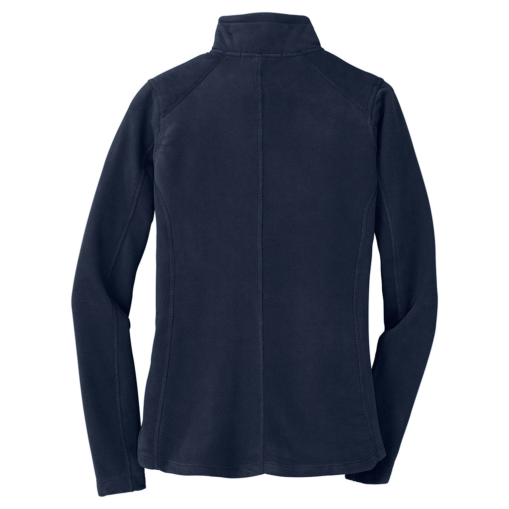 Port Authority Women's True Navy Microfleece Jacket