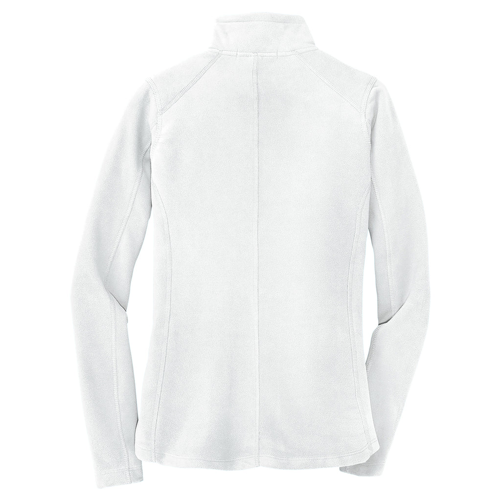 Port Authority Women's White Microfleece Jacket