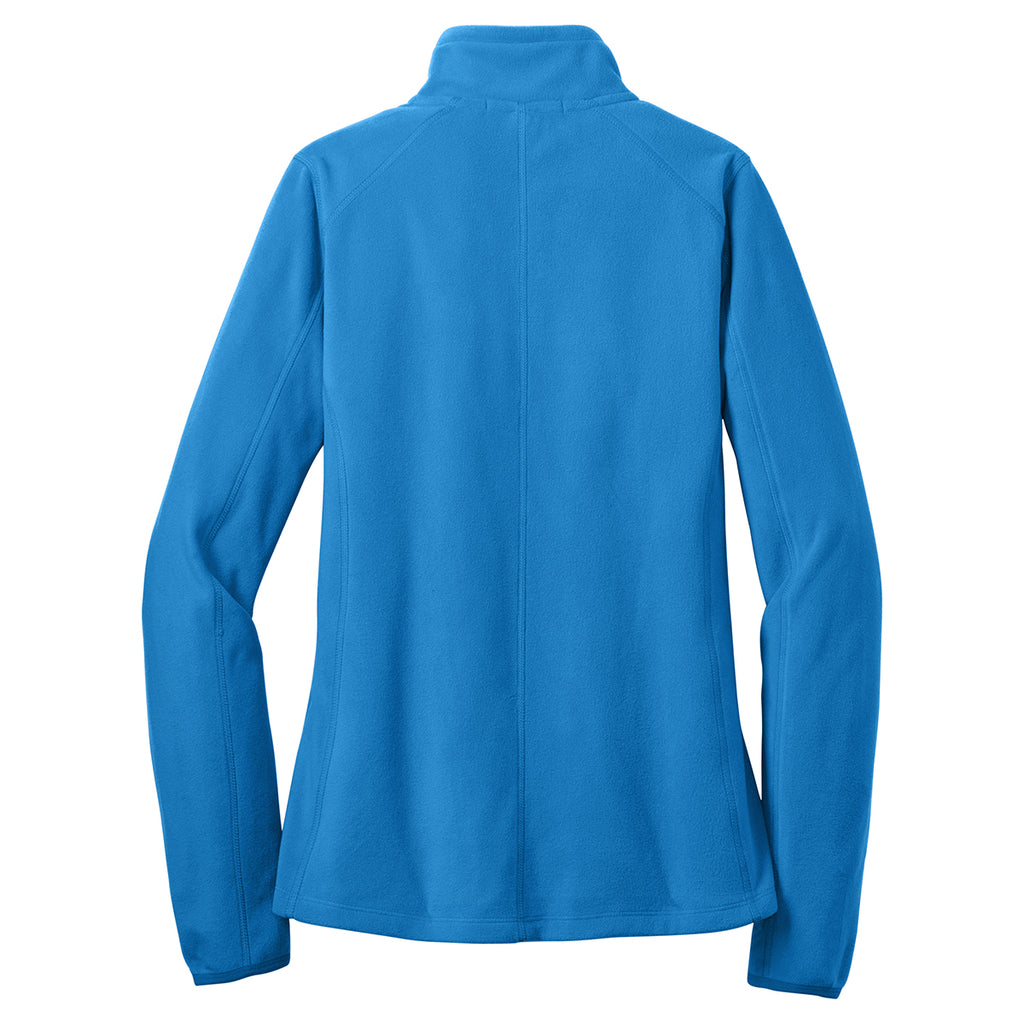 Port Authority Women's Light Royal Microfleece 1/2-Zip Pullover