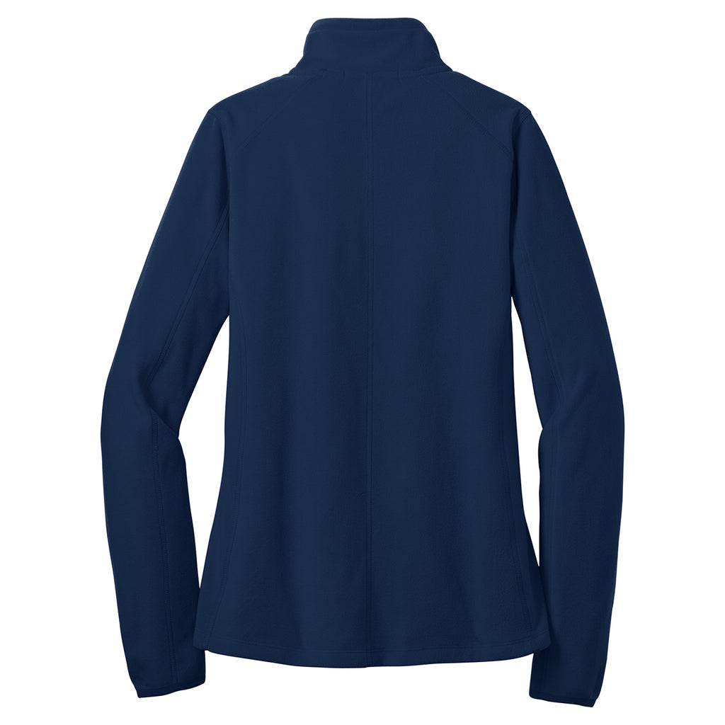 Port Authority Women's True Navy Microfleece 1/2-Zip Pullover