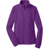 port-authority-women-purple-microfleece-zip