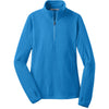 port-authority-women-blue-microfleece-zip