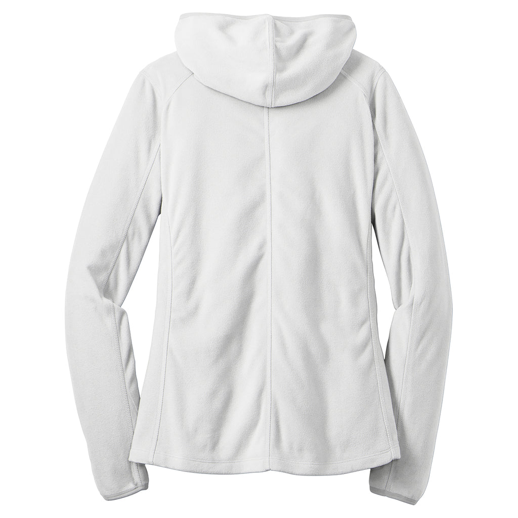 Port Authority Women's White Microfleece Hoodie