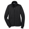 port-authority-womens-black-fleece