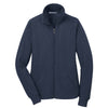 port-authority-womens-navy-fleece