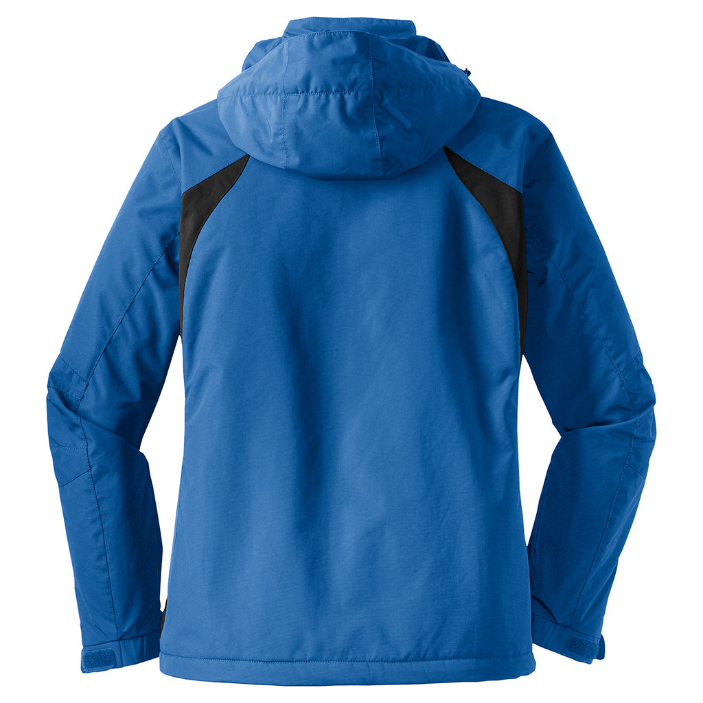 Port Authority Women's Snorkel Blue/Black All Season II Jacket