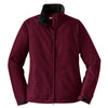 port-authority-women-burgundy-challenger-jacket