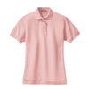 port-authority-womens-pink-pique-polo