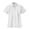 port-authority-womens-white-pique-polo