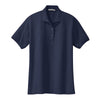 port-authority-womens-navy-knit-polo
