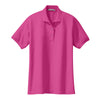 port-authority-womens-pink-knit-polo