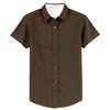 port-authority-women-brown-ss-shirt