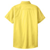 Port Authority Women's Yellow Short Sleeve Easy Care Shirt