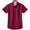 port-authority-women-burgundy-ss-shirt