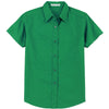 port-authority-women-light-green-ss-shirt