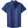 port-authority-women-blue-ss-shirt