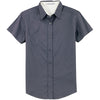 port-authority-women-grey-ss-shirt