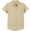 port-authority-women-beige-ss-shirt
