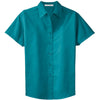 port-authority-women-turquoise-ss-shirt