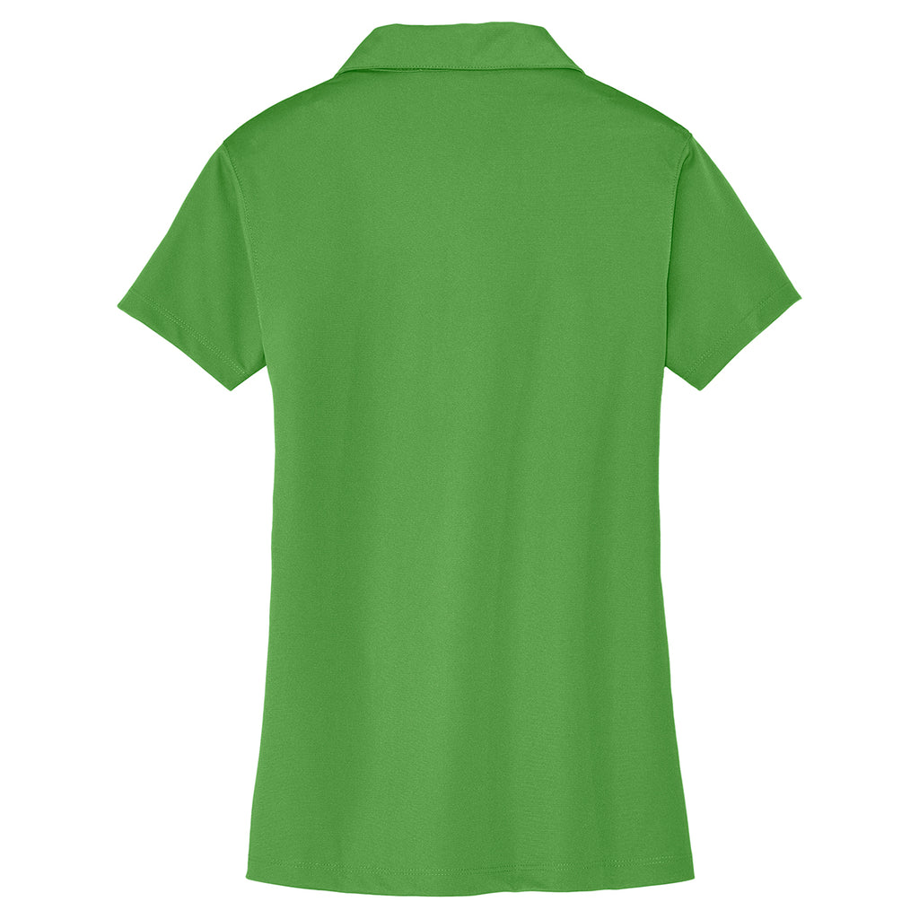 Port Authority Women's Cactus Green Tech Pique Polo