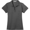port-authority-women-grey-tech-polo