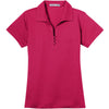 port-authority-women-pink-tech-polo