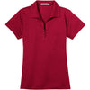 port-authority-women-red-tech-polo