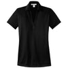 port-authority-women-black-jacquard-polo