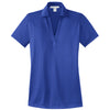 port-authority-women-blue-jacquard-polo