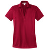 port-authority-women-red-jacquard-polo