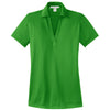 port-authority-women-green-jacquard-polo