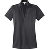 port-authority-women-grey-jacquard-polo